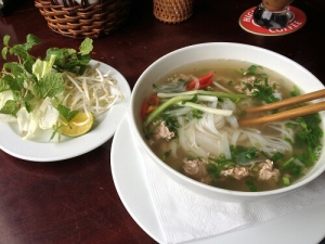 Suppe beim Vietnamesen in Hamburg